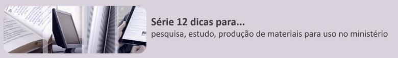 Barra-12 dicas